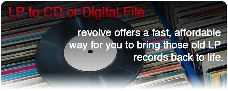 Revolve Vinyl To Cd Conversion Service Transfer Your Lps