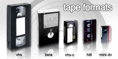 Home Video Tape Formats