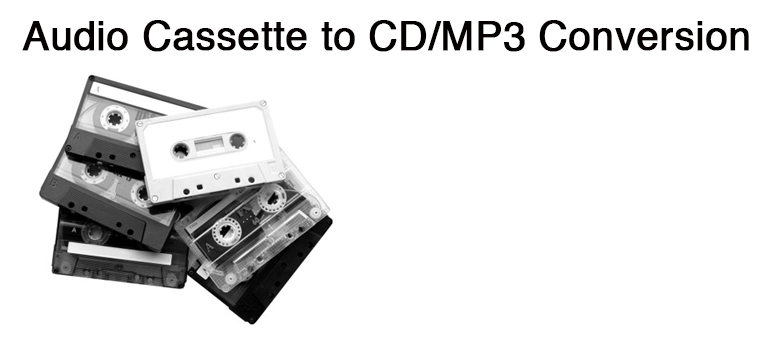Cassette to CD/Digital